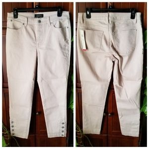 NWT Talbots Flawless 5 Pocket Cropped Jeans